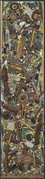 Breaking Circles, 1960 congregation of mixed media...