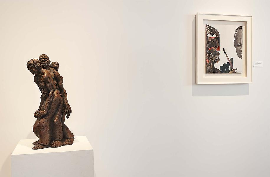 Installation Views - RISING UP/UPRISING: Twentieth Century African American Art - March 15 – May 3, 2014 - Exhibitions