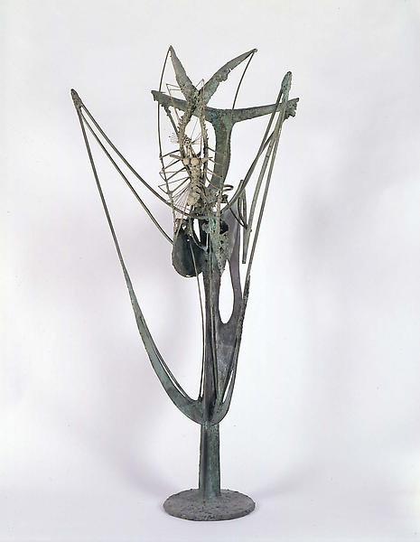 Insect Plant, 1957 steel brazed with copper 46 1/2...