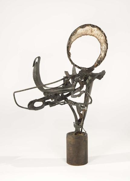 "Untitled, c.1950 welded steel 27 1/2"" x 20&qu..."