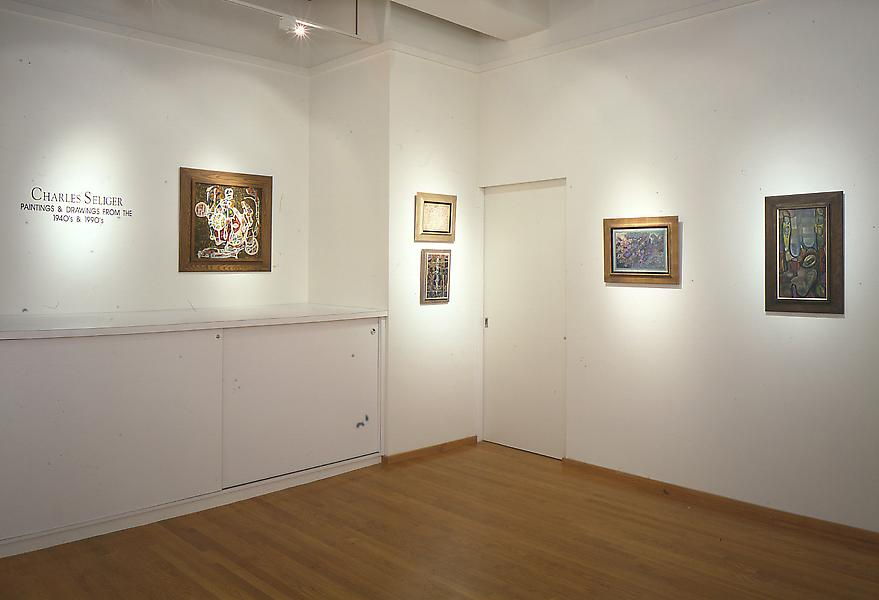 Installation Views - Charles Seliger: The 1940s & 1990s - April 13 – June 3, 1995 - Exhibitions