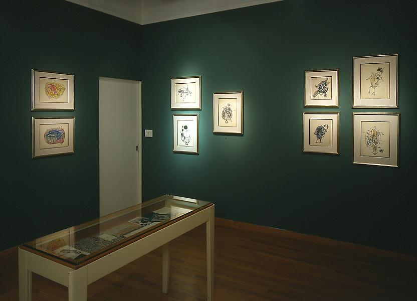 Installation Views - Charles Seliger: Biomorphic Drawings, 1944-1947 - June 5 – August 22, 1997 - Exhibitions