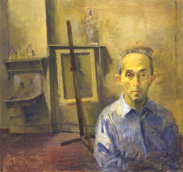 Raphael Soyer (1899–1987) Self Portrait - In...