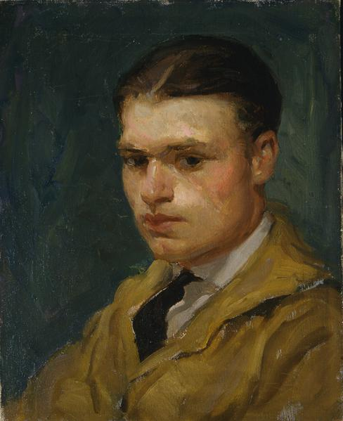 Louis Stone (1902–1984) Self Portrait, c.192...