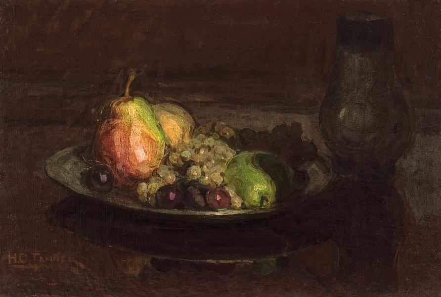 Still-Life with Fruit, c.1910 oil on canvas 15&quo...