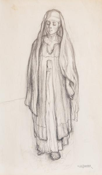 Untitled (Study for Return of the Holy Women), c.1...