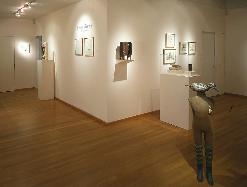 Installation Views - Lenore Tawney, Meditations: Weavings, Collages and Assemblages - April 2 – May 31, 1997 - Exhibitions