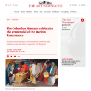The Art Newspaper, October 19, 2018
