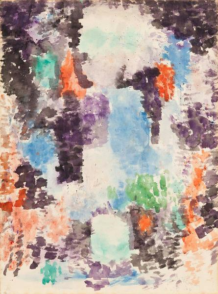 Alma Thomas (1891–1978) Untitled, 1966 acryl...