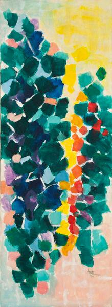 Alma Thomas (1891–1978) Untitled, 1968 acryl...