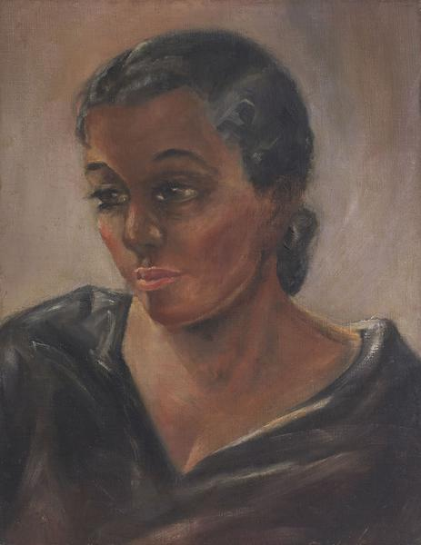 Charles White (1918-1979) Contemplation, c.1935 oi...