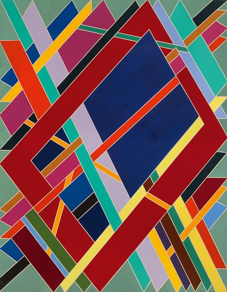 Hawk's Return, 1969-70 acrylic on canvas 109&q...