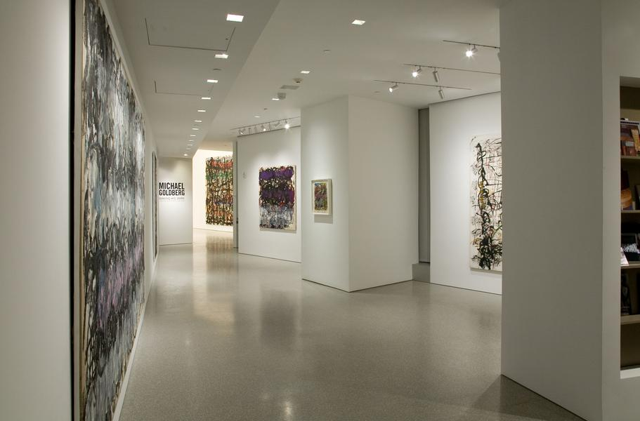 Installation Views - Michael Goldberg: Making His Mark Paintings and Drawings, 1985-2005 - January 17 – March 14, 2015 - Exhibitions