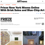 ARTnews, May 6, 2020